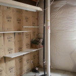 radon mitigation system in sump pit